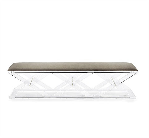 Asher King Bench design by Interlude Home