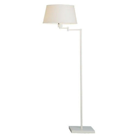 Real Simple Swing Arm Floor Lamp by Robert Abbey