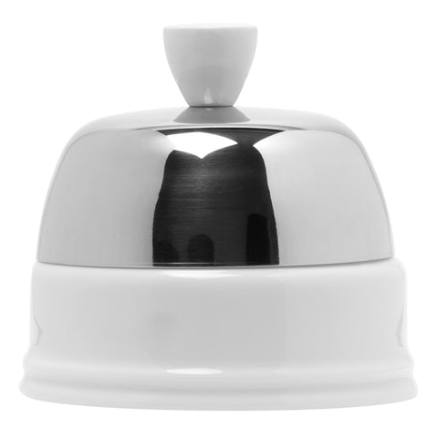 Salam Sugar Bowl with Lid in White