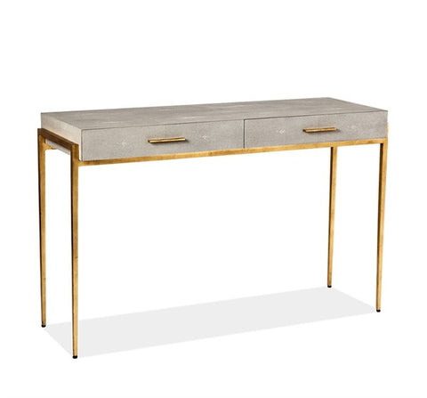 Morand Console/ Desk in Taupe design by Interlude Home