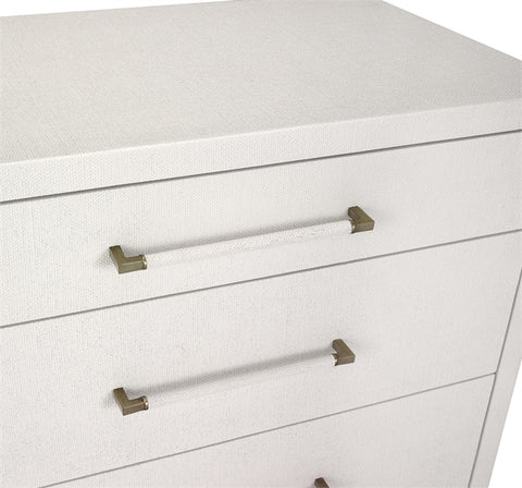 Taylor 8 Drawer Chest in White design by Interlude Home