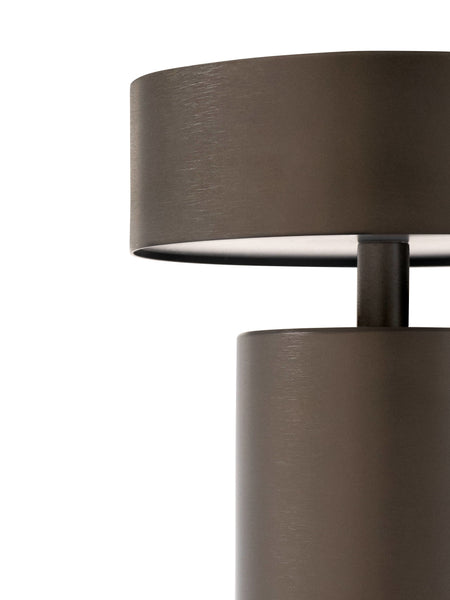 Column LED Table lamp in Bronze by Menu