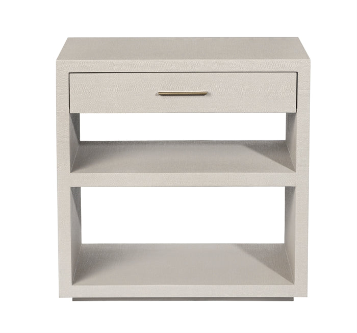 Livia Bedside Chest in Sand design by Interlude Home
