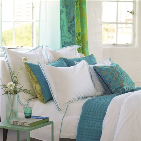 Astor Jade Bedding design by Designers Guild