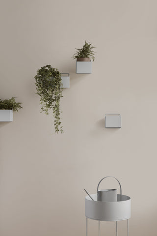Square Wall Box in Light Grey design by Ferm Living