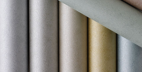 Marquise Wallpaper in tan from the Lucenta Collection by Osborne & Little
