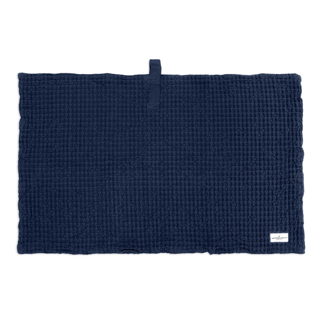 Big Waffle Bath Mat in multiple colors by The Organic Company