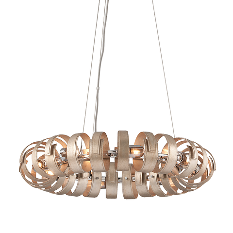 Recoil Pendant by Corbett Lighting