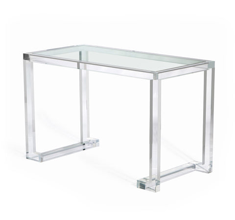 Ava Acrylic Desk Design By Interlude Home