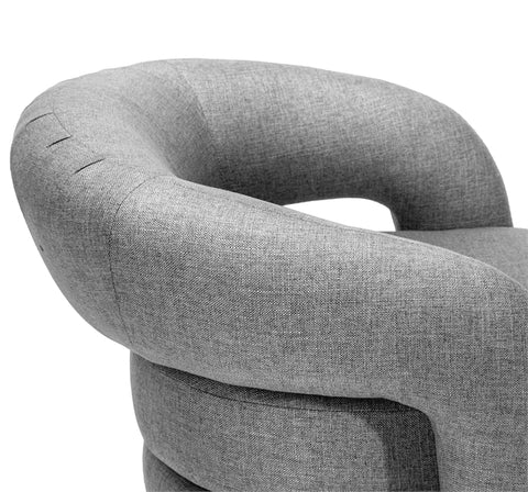 Targa Chair in Grey design by Interlude Home