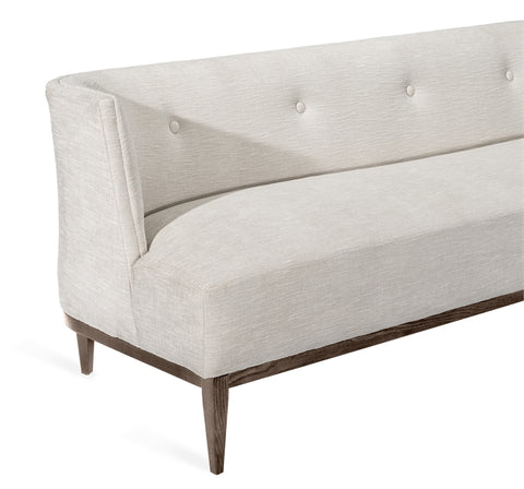 Chloe Sofa in Pearl design by Interlude Home