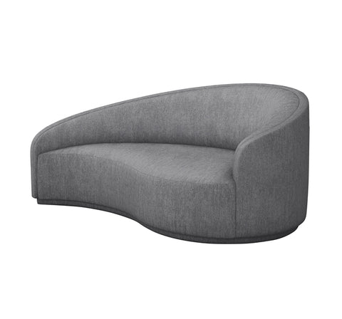 Dana Right Chaise in Night design by Interlude Home