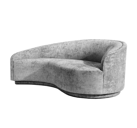 Dana Right Chaise in Feather design by Interlude Home