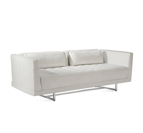Luca Loveseat in Pearl design by Interlude Home