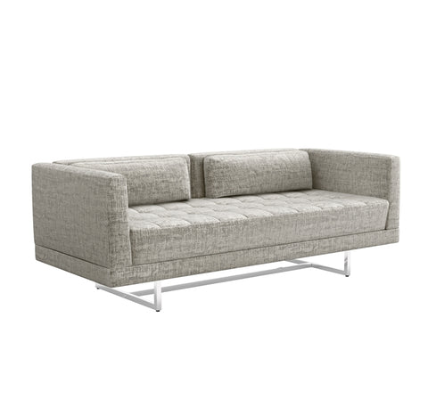 Luca Loveseat in Feather design by Interlude Home