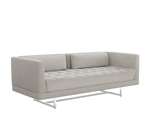 Luca Loveseat in Grey design by Interlude Home