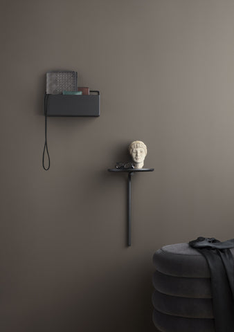 Rectangle Wall Box in Black design by Ferm Living