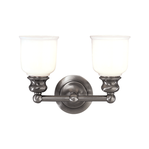 Riverton 2 Light Bath Bracket by Hudson Valley Lighting