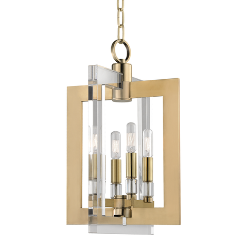 Wellington 4 Light Pendant by Hudson Valley Lighting