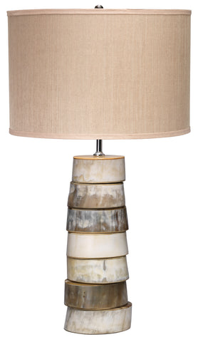 Stacked Horn Table Lamp design by Jamie Young