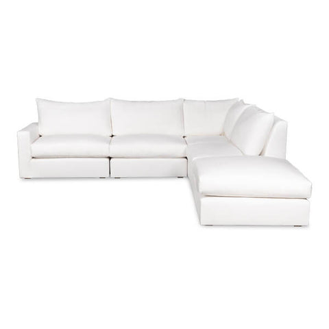 The Weekend Sectional Sofa in Various Fabric Styles