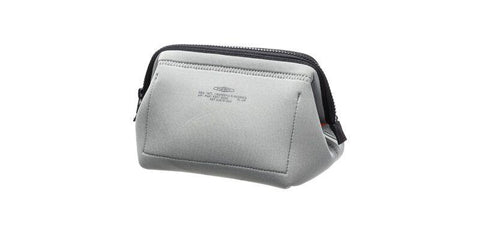 Wired Pouch - Small - Light Gray & Orange design by Puebco