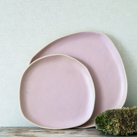 Organic Beetroot Dinner Plate by BD Edition I