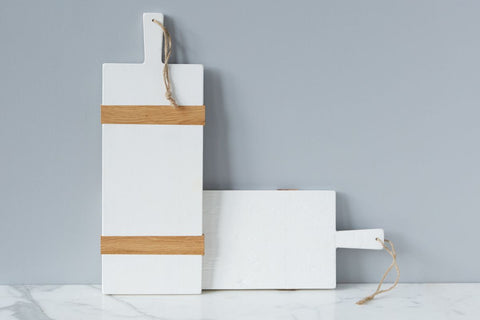 White Mod Charcuterie Board, Small  design by BD Studio