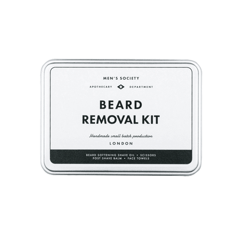Beard Removal Kit design by Men's Society