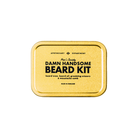 Damn Handsome Beard Grooming Kit design by Men's Society