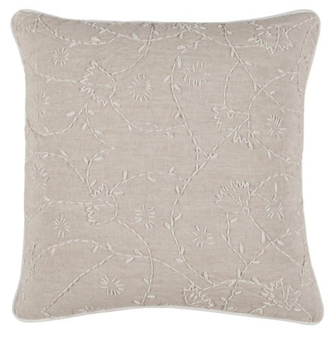 Antonia Natural/Ivory Pillow