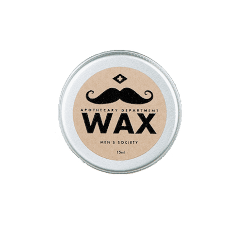 Moustache Wax - 15ml design by Men's Society