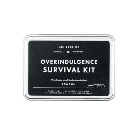 Overindulgence Survival Kit design by Men's Society
