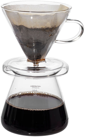 Glass Coffee Dripper Set