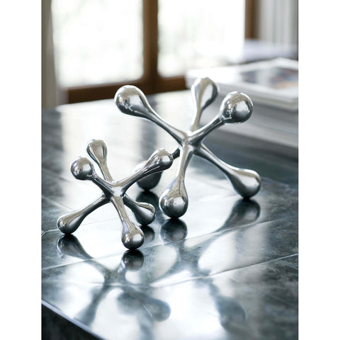 Modern Jack in Polished Nickel design by Regina Andrew