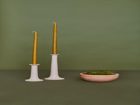 Simple Wood Candle Holder in Various Sizes & Colors design by Hawkins New York
