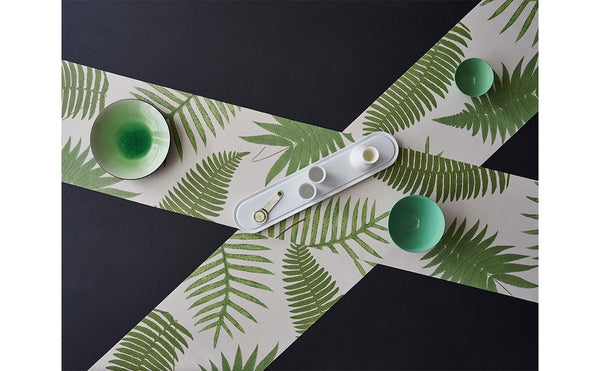 British Ferns Runner by John Derian + Chilewich