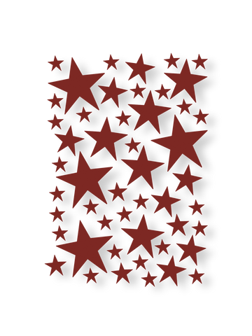 Mini Stars Wallstickers by Ferm Living
