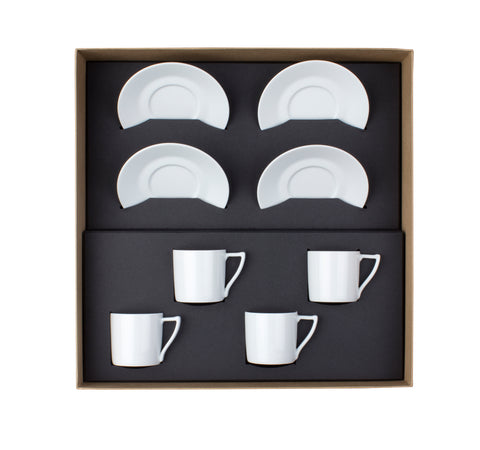 Newport Gift Box 4 coffee cups set