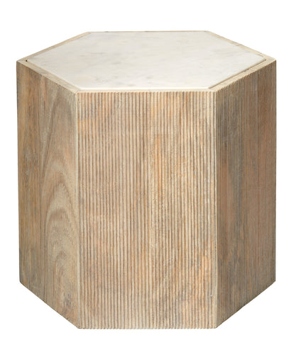 Large Argan Hexagon Table design by Jamie Young