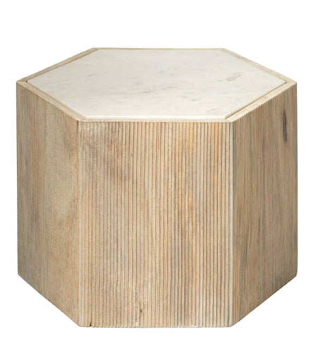 Medium Argan Hexagon Table design by Jamie Young