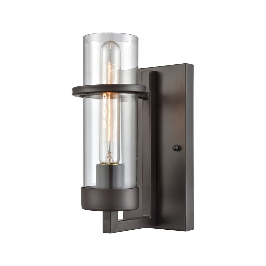 Holbrook 1 Wall Sconce in Oil Rubbed Bronze