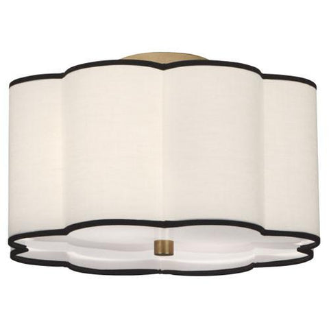 Axis Collection Semi-Flush Mount design by Robert Abbey