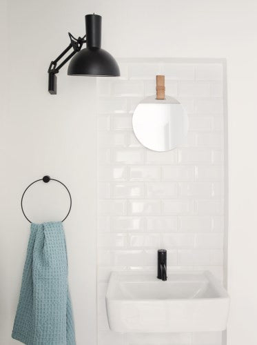 Black Towel Hanger design by Ferm Living