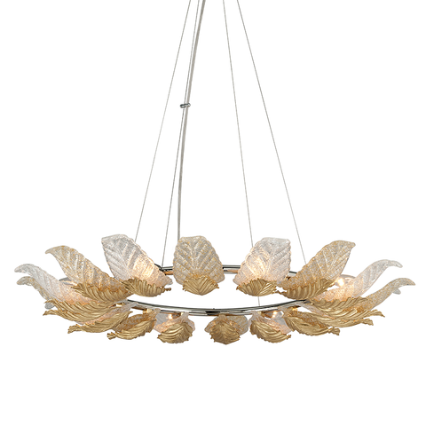 Anello Chandelier by Corbett Lighting