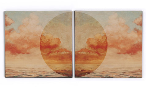 Sunrise I Ii Diptych By Coup Desprit