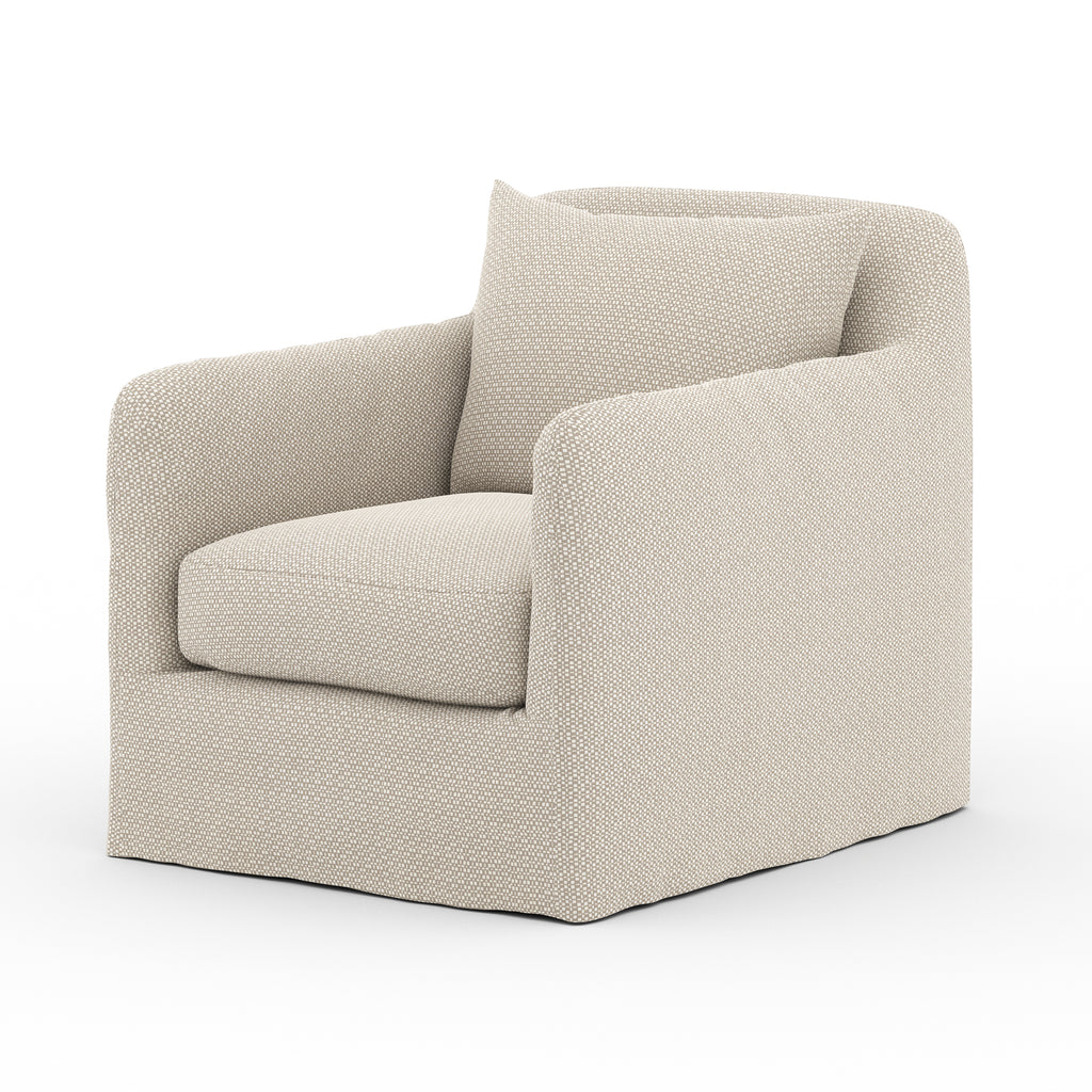 Dade Outdoor Swivel Chair