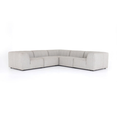 Gwen Outdoor 5 Pc Sectional