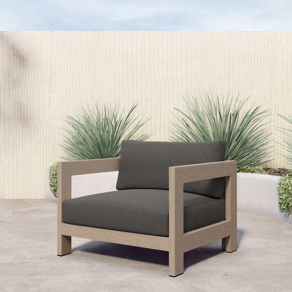 Caro Outdoor Chair Washed Brown