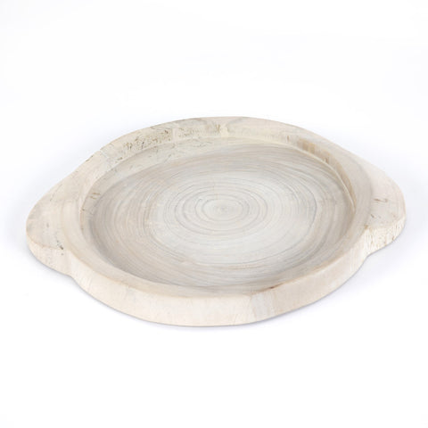 Tadeo Round Tray in Various Colors by BD Studio